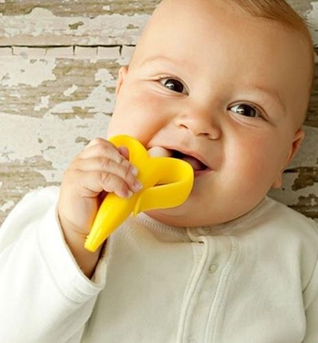 מברשת שיניים ונשכן בייבי בננה - תמונה 2