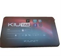 """טאבלט KIUNIT בגודל """"7 אחסון 8GB מעבד DUAL CORE מצלמה דואלית כולל כיסוי סיליקון +כיסוי מקלדת בעברית"""