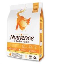 נוטריאנס מזון לחתול  הודו ועוף ללא דגנים 5 ק''ג