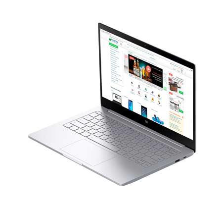 מחשב נייד Mi NoteBook Air מעבד m3-7Y30 זיכרון 4GB RAM ודיסק קשיח 128GBSSD