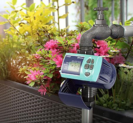 מחשב השקיה מתקדם GALCON Smart עמיד ופשוט להפעלה דגם: Smart 3/4  - משלוח חינם - תמונה 2