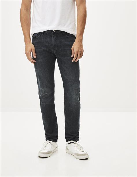 ג'ינס אפור בגזרה צרה Slim