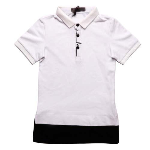 Oro אורו חולצת פולו טוניקה לבן