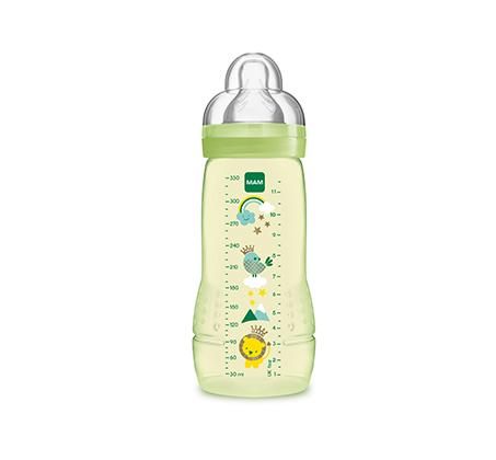 """מארז 2 בקבוקי MAM תינוק 330 מ""""ל"""