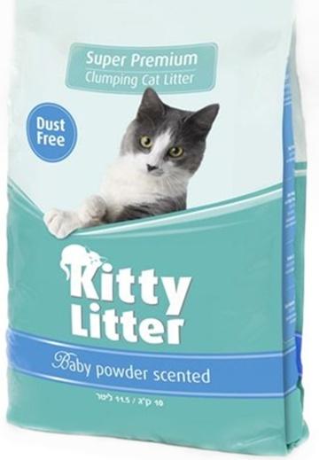3 קיטי ליטר Kitty Litter - חול מתגבש 10 ק''ג