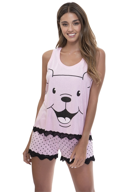 Happy Bear חליפת פנאי