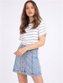 חצאית ג'ינס ליזה תכלת סטייל ריבר