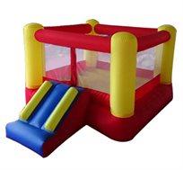 מתקן מתנפח לילדים JUMP HOP עם מגלשה קדמית מבית CAMPTOWN