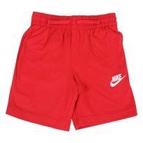 מכנס נייקי קצר אדום לילדים - Nike Club Jersey Short Red