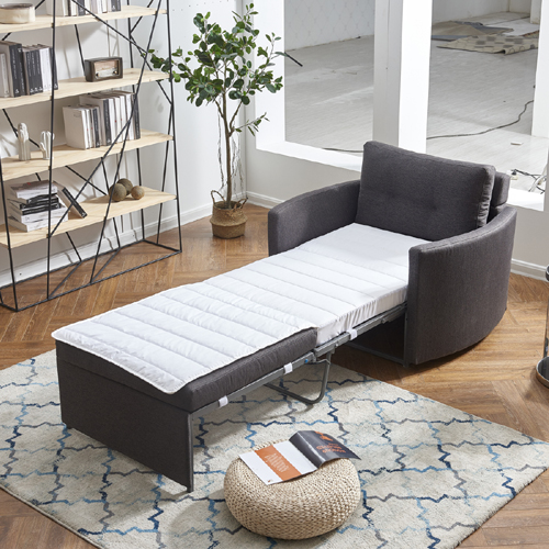 כורסא מעוצבת מרופדת בד ונפתחת למיטה דגם שגיא HOME DECOR  - תמונה 3