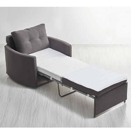 כורסא מעוצבת מרופדת בד ונפתחת למיטה דגם שגיא HOME DECOR  - תמונה 4