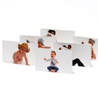 אלבומי זיגזג מודפסים דו צדדיים על נייר כרומו