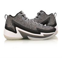 נעלי כדורסל לגברים Li Ning C.J. McCollum Power 4 Mid - אפור