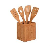 סט כלי במבוק 4 חלקים למטבח