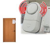 אזעקה בעוצמת 90 דציבל לדלת וחלון להגנה בפני פריצה הכוללת גלאי המזהה פתיחה, בהתקנה עצמית ופשוטה
