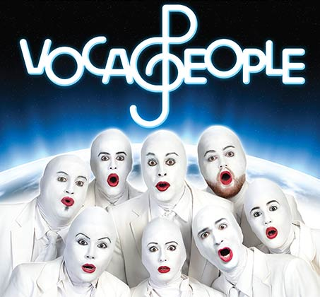 כרטיס למופע העשור של להקת ה-VOCA PEOPLE