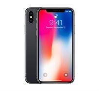 """סמארטפון Apple iPhone X גודל מסך """"5.8 נפח 64GB+3GB מעבד 10 ליבות מצלמה כפולה 12MP מחודש"""
