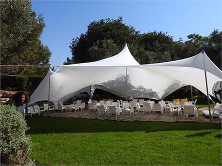 בד אוהל לייקרה גדול 6X5.10 - משלוח חינם - תמונה 6