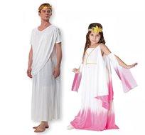 תחפושת נסיכי יוון להורה וילדה