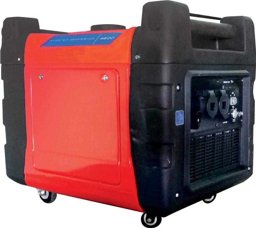 גנראטור אינוורטר מושתק עם הספק מקסימלי 4600W + סטרטר דגם KR-4600EN