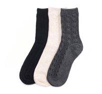 מארז 3 זוגות גרביים קלאסיות