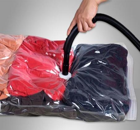 10 שקיות ואקום גדולות  לאחסון שמיכות, בגדים, מגבות, מעילים ועוד - תמונה 3