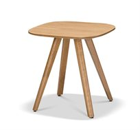 שולחן קפה לסלון דגם מיסי ביתילי בעל פלטת פורניר אלון ורגלי עץ