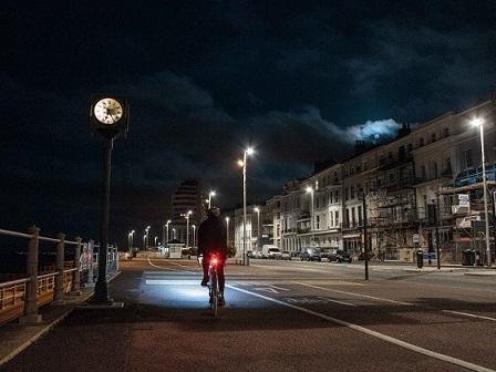סט פנסים קדמי ואחורי לאופניים עם שני מצבי תאורה לרכיבה בטוחה! - תמונה 6