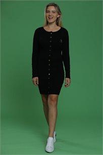 שמלה עם כפתורים לנשים במגוון צבעים לבחירה