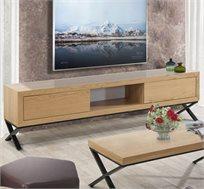 מזנון לסלון בעיצוב מודרני בעל שתי מגירות דגם אופיר