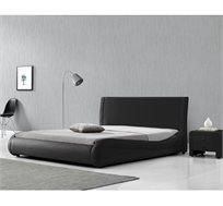מיטה זוגית קלאסית בעיצוב מעוגל ומרשים דגם מנגו