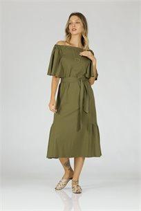 שמלה אוליב
