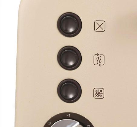 מצנם 2 פרוסות Morphy Richards כולל מנגנון השחמה אלקטרוני - תמונה 3
