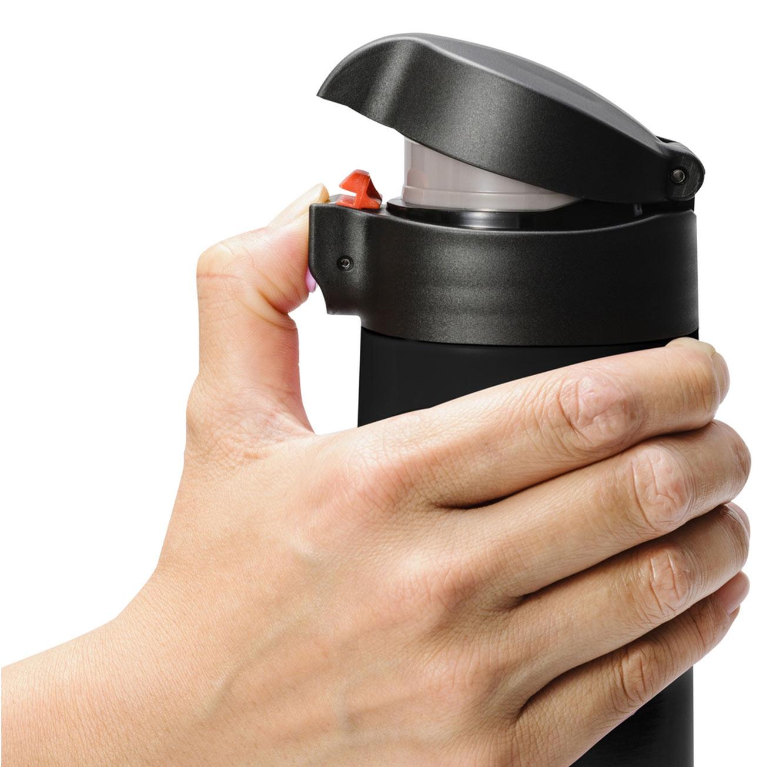 כוס תרמית קרמית בשני גדלים ובצבעים כסוף ושחור לבחירה מבית KYOCERA - משלוח חינם - תמונה 5