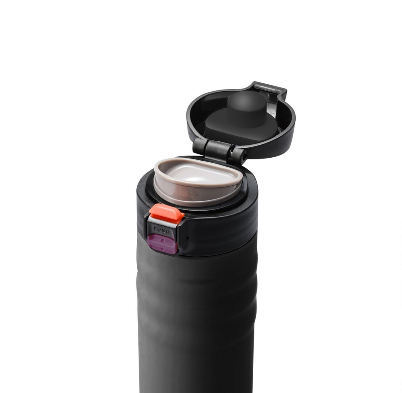 כוס תרמית קרמית בשני גדלים ובצבעים כסוף ושחור לבחירה מבית KYOCERA - משלוח חינם - תמונה 3