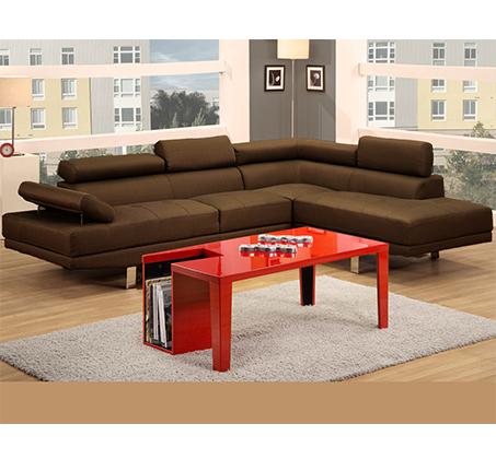 ספה פינתית מודרנית בריפוד בד GAROX דגם אמסטרדם