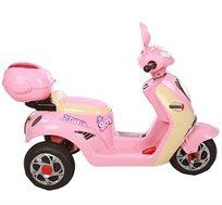 קטנוע חשמלי לילדים 6V, איכותי וחזק דגם וספה