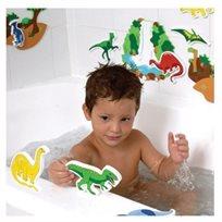 סט דמויות להתאמה ומשחק באמבטיה - דינוזאורים