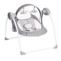 נדנדה חשמלית מתקפלת לתינוק מופעלת ע''י סולות או Usb דגם Ty-008