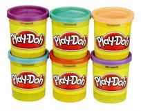 play-Doh מבית HASBRO עם מארז 4 צבעים בהירים + 2 צבעים בהירים מתנה!