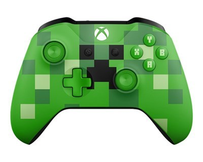 Xbox One S Wireless Controller Minecraft Creeper Edition גיים פאד