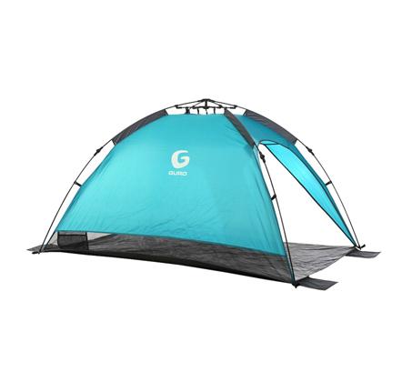 אוהל צל GURO לעד 3 אנשים בעל הגנה UPF 50 + מקרני השמש דגם LAGUNA - משלוח חינם - תמונה 2