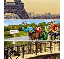 טיול מאורגן למשפחות בין אמסטרדם ופריז! 8 ימי סיור כולל כניסה ליורודיסני ואפטלינג החל מ-€889* לאדם!