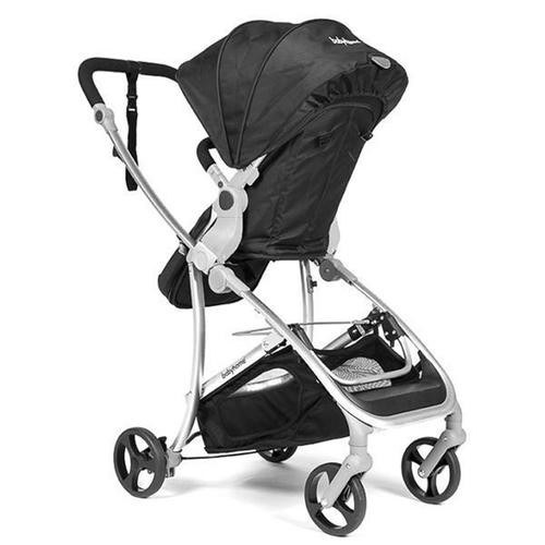 עגלת תינוק רב שלבית וידה פלוס VIDA PLUS - שחור/שלד כסוף - משלוח חינם - תמונה 3