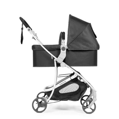 עגלת תינוק רב שלבית וידה פלוס VIDA PLUS - שחור/שלד כסוף - משלוח חינם - תמונה 5