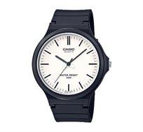 שעון יד אנלוגי בסיסי - שחור