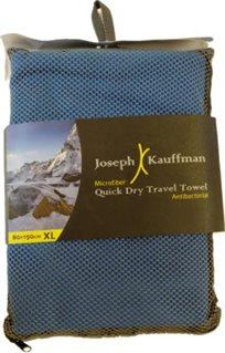 """מגבת ענקית ואיכותית 150X80 ס""""מ מתייבשת במהירות ומתקפלת לתיק נשיאה קטן מבית Joseph Kauffman!!"""