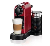 מכונת קפה Citiz & Milk בצבע אדום דגם C122 מבית Nespresso - משלוח חינם!
