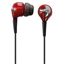 אוזניות סיליקון סטריאופוניות כולל כריות אוזן סיליקון בגדלים שונים להתאמה נוחה, מבית HAMA