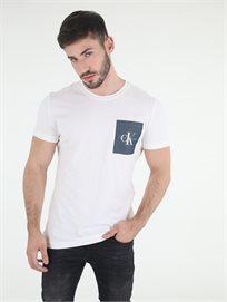 חולצה קלווין קליין לבנה לגברים